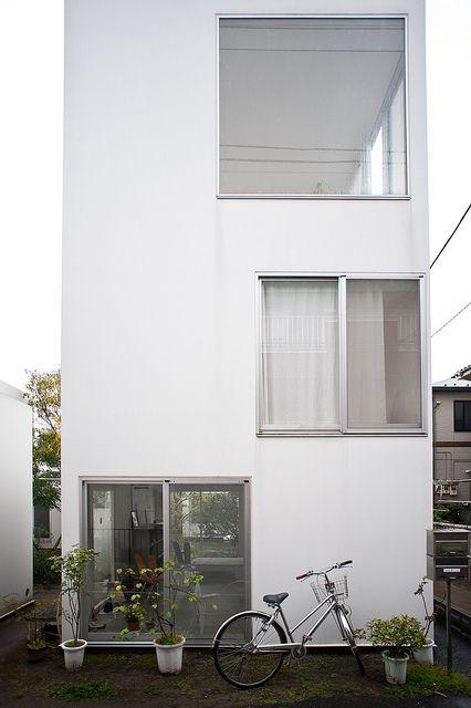 Moriyama House in Tokyo by #SANAA_Architects   photo: Jon Reksten #architetcture #house #contemporary