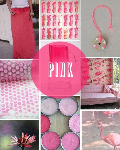 Poppytalk: Summer Pink!: Wrap Wall, Bubble Wrap, Summer Colors