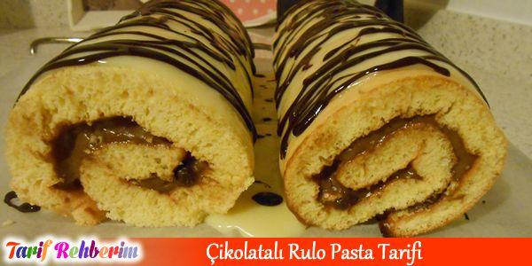 #Çikolatalı #Rulo #Pasta