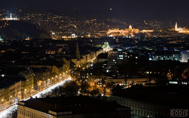 Budapest from the 23rd floor
