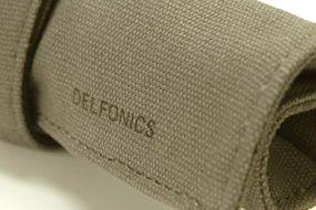 【楽天市場】【DELFONICS】デルフォニックス ロールペンケース【ミニ】 帆布製 EN51 【ペンケース】【文房具/文具/デザイン/おしゃれ/ステーショナリー】【デザイン/おしゃれ/海外/輸入】【デザイン文具ならイーオフィス】:イーオフィス