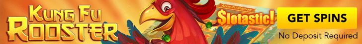 Slotastic Online Casino 10 No Deposit FREE Spins on Kung Fu Rooster