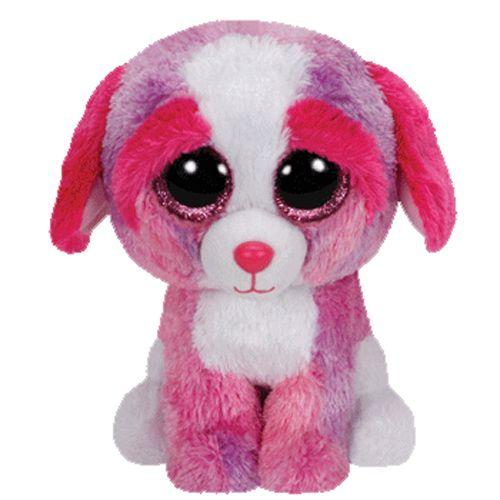 big eys justice shop | ... Beanie Boos - SHERBET the Dog (Glitter Eyes) (Regular Size - 6 inch