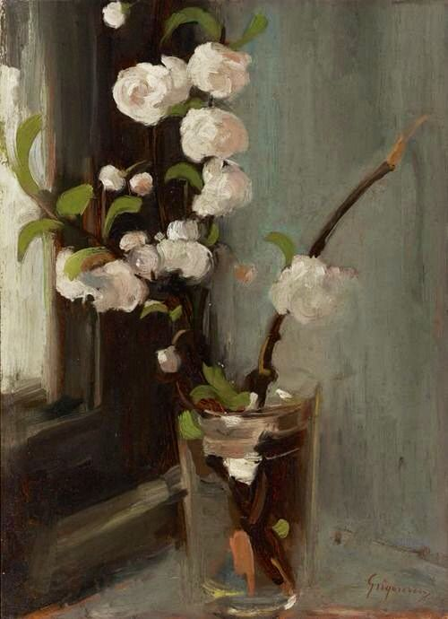Nicolae Grigorescu (Romanian, 1838–1907) - Apple Blossoms