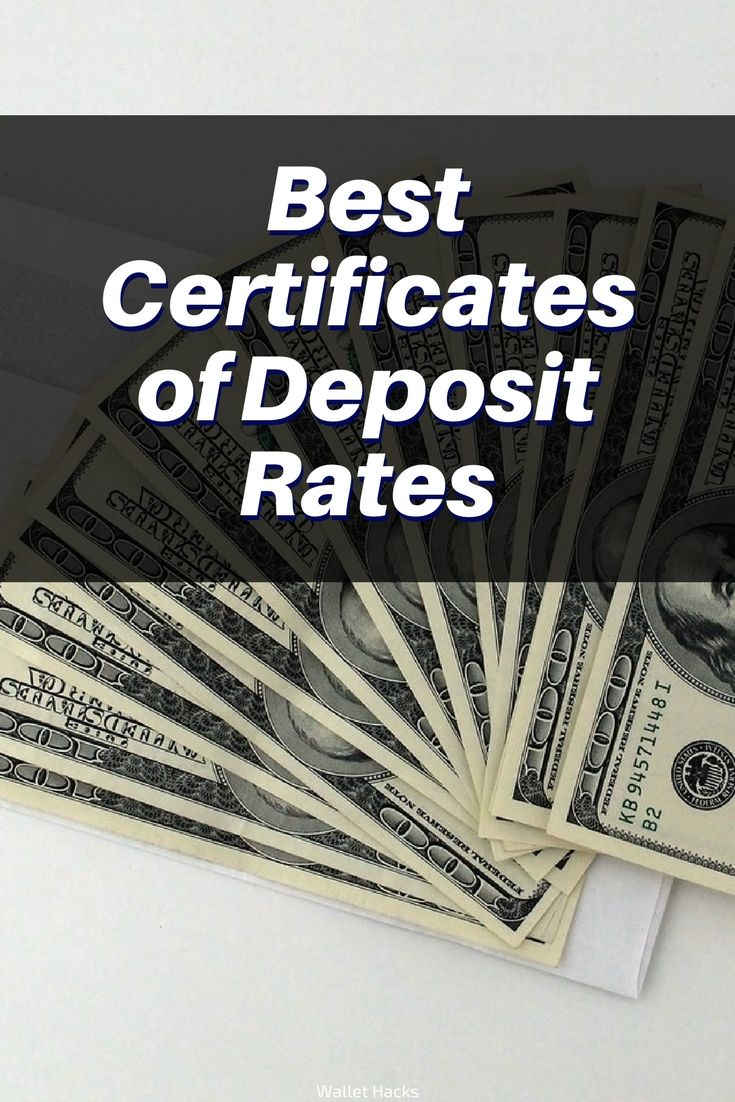 Best Certificate Of Deposit Rates Financial Free Pinterest