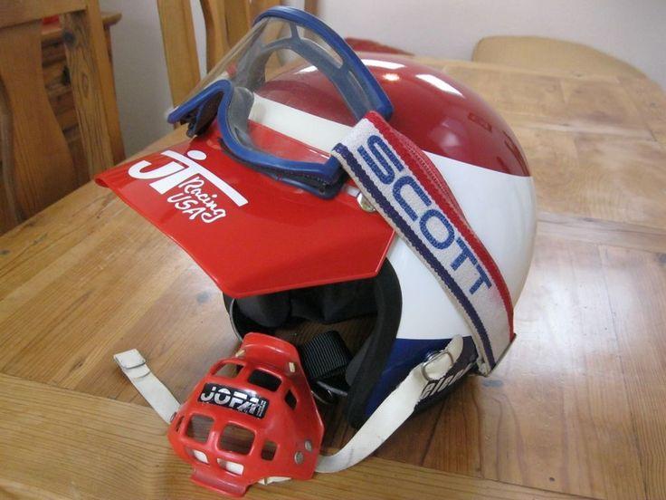 Bell Moto 3 >> Vintage 1978 Electro Team Honda replica motocross helmet ...