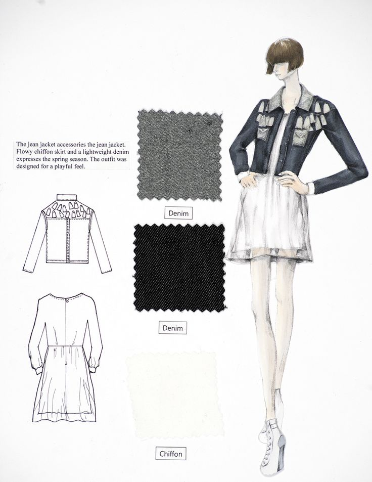 The FIT Fashion Design program for Fall 2013!Ji Eun Kim
