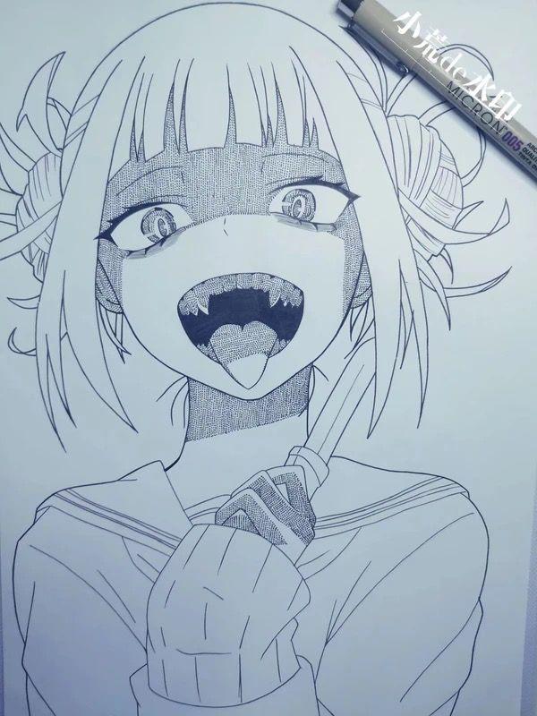 Toga Himiko Anime Kawaii Anime Manga Drawing