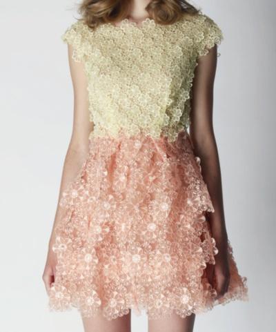 cream and pink #fashion