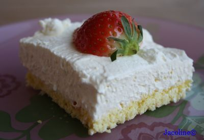 Dutch recipe for cream cheese pie: Gluten free and Sugar free - Gezond leven van Jacoline: Suikervrije en glutenvrije monchoutaart