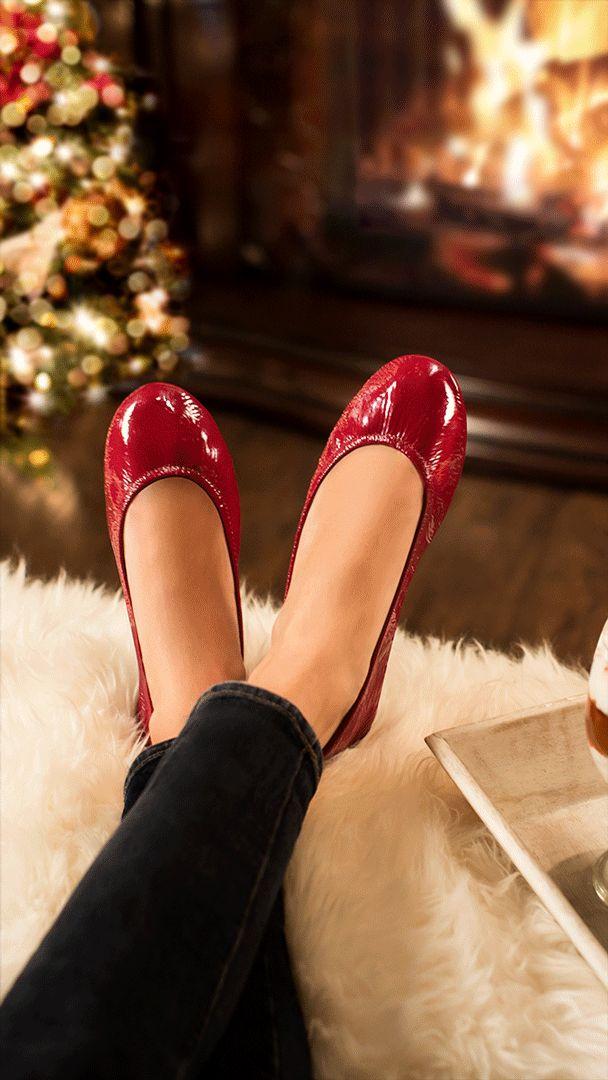Tieks the season to be cozy and chic. | Tieks Ballet Flats