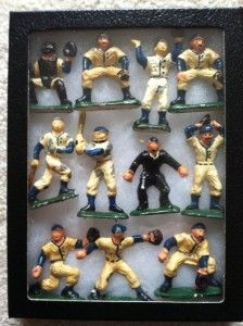 ... little baseball guys Peter Schilling found in his estate sale ramblings. Love these.