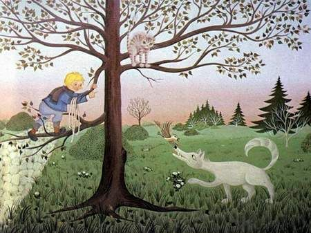 Peter en de wolf: Tekeningen 2