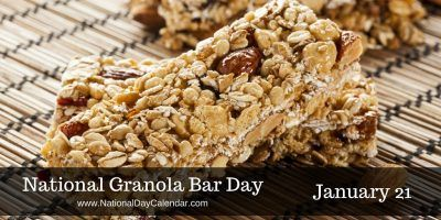 I just minutes ago finished eating my granola bar.. How about you? And since today is #NationalGranolaBarDay why not pick some up on the way to work for good snacks all day long!