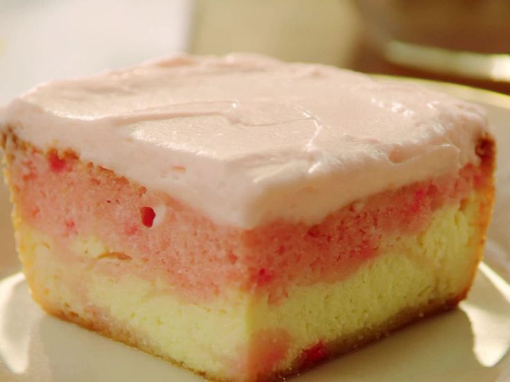 Strawberry Love Cake recipe from Valerie Bertinelli via Food Network