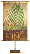 Blessed is the King Sacred Symbols of Easter Banner