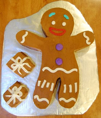 Gingy Cake Flickr Photo Sharing Gingy Pinterest