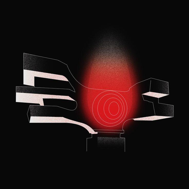Podgarić #momument by Dušan Džamonja / www.spomeniky.com/podgaric / #balkan #spomenik #brutalist #utopian #concrete #brutalism #architecture #podgaric #artwork