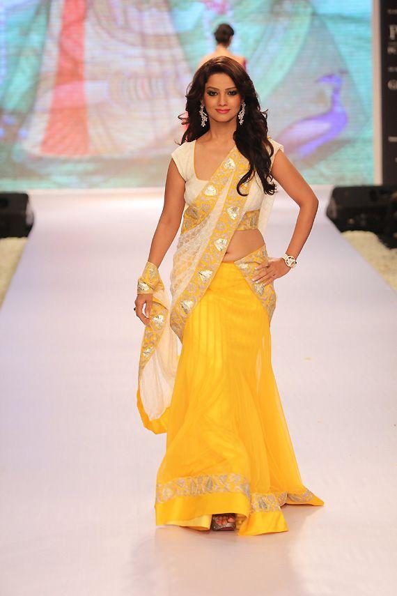 traditional half saree