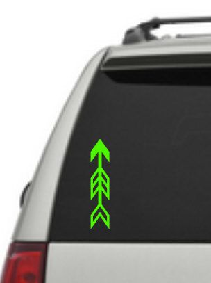 Arrow window decal sticker etsy listing at https www etsy