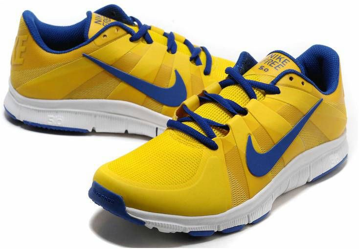 Nike Free Trainer   Shoes Tour Yellow Old Royal White