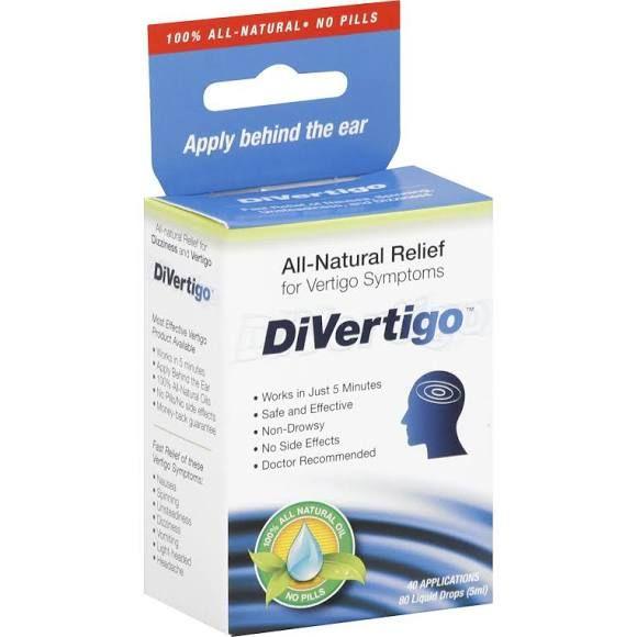 DiVertigo Vertigo Relief - 80 drops [5 ml]