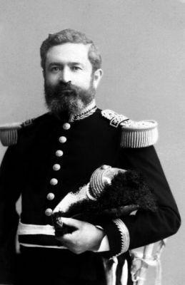 Estanislao León, Segundo Comandante del Regimiento Santiago 5° de Línea.