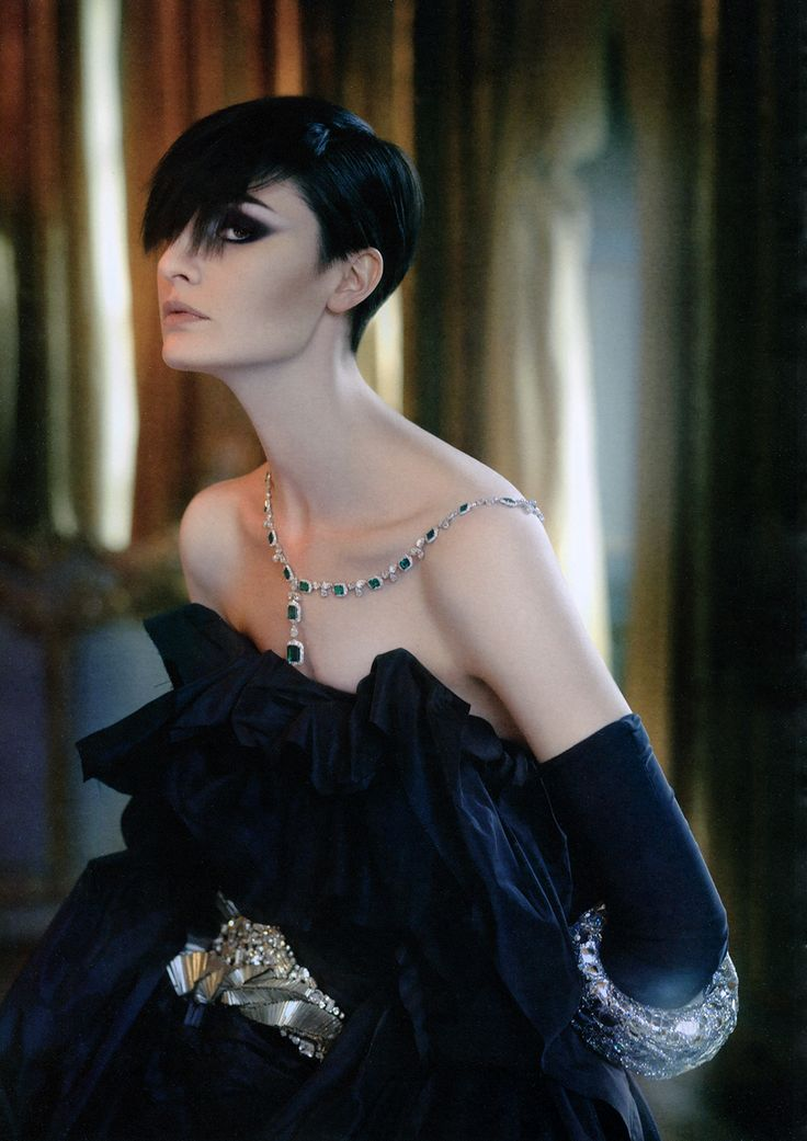 Erin O'Connor by Amedeo M. Turello for Style Monte-Carlo, 2008