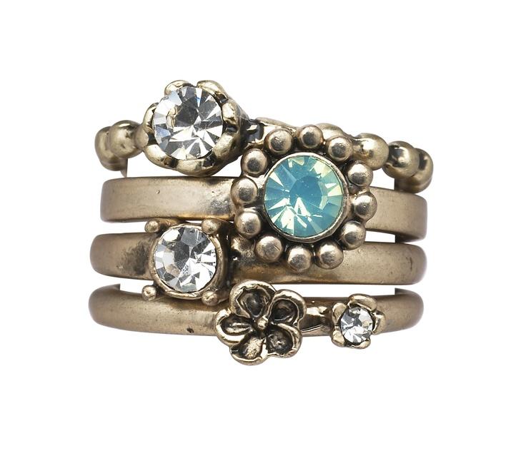 Stunning rings by Lisbeth Dahl Copenhagen Spring/Summer 13. #LisbethDahlCph #jewellery #Beautiful #Rings