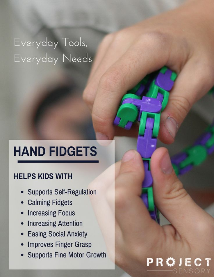 Hand fidgets are a wonderful tool for your child to use anytime they feel the need to fidget or have trouble paying attention. Great tactile sensory input