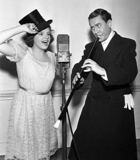 Judy Garland and Reginald Gardiner, 1938