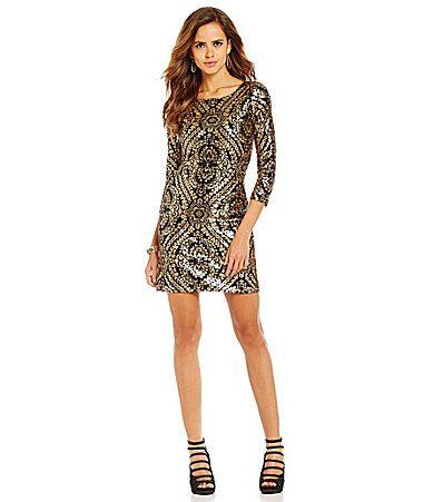 6c7229719a 90+ Sequin Dress Dillards - A Little Dash Of Darling Blogger Glitter ...