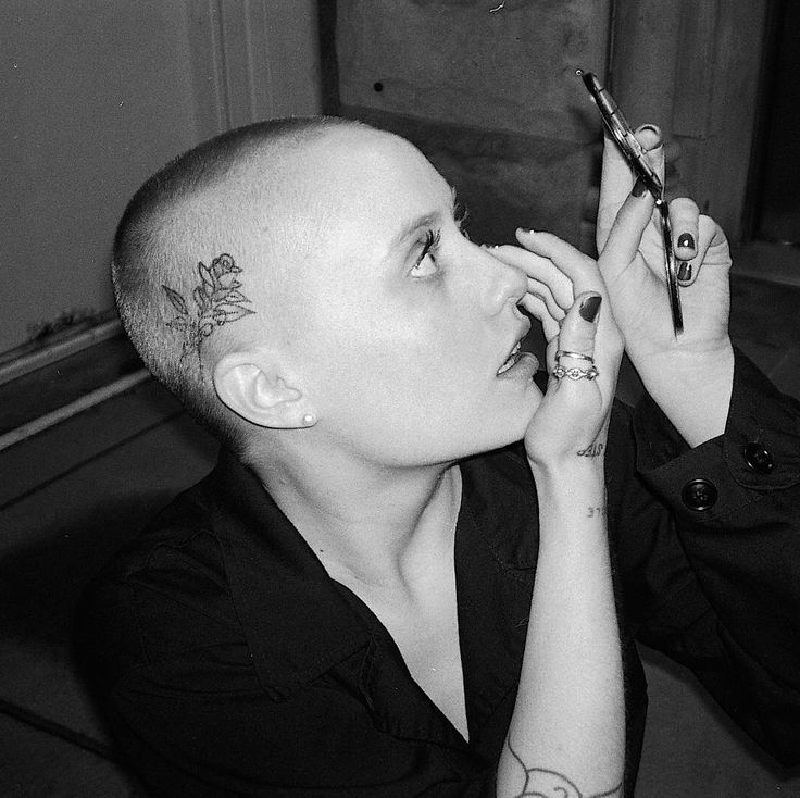 nouveau bald haircuts challenge the way we think of gender