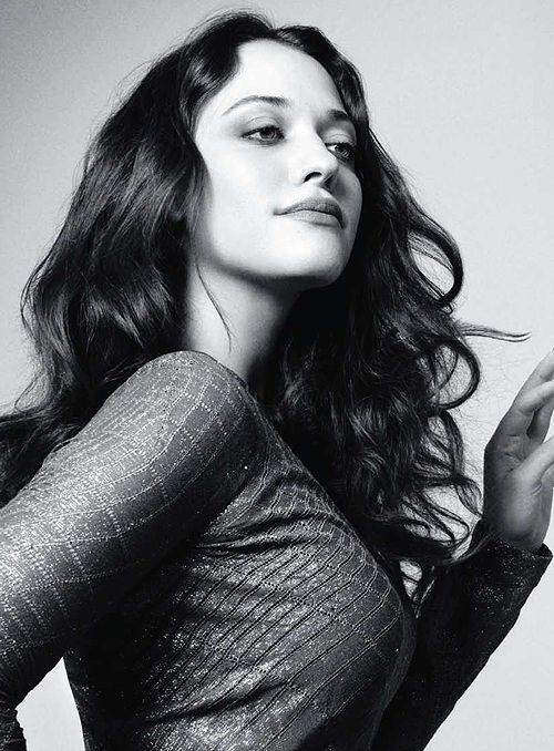Kat Dennings- God she is so freaking sexy.... My brain hurts from how beautiful she is..