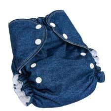 AMP One-Size Duo Pocket Diaper - Cozy Bums Diapers