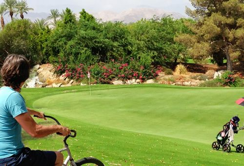 One of 2 golf courses available at Hyatt Regency Indian Wells Resort Spa.