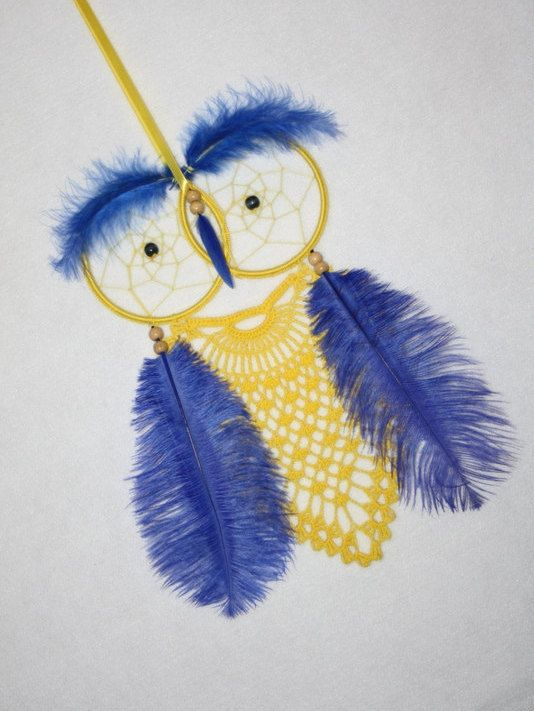 Cute owl dreamcatcher  #dreamcatcher , #crochetdreamcatcher , #lacedreamcatcher , #bohodreamcatcher , #bohostyle , #bohochic , #boho , #hippiedecor , #bohemianstyle , #makatarinacorner , #etsyshop , #crochetinglove , #crochetart , #homedecor , #design , #homesign , #walldecor , #owldecor, #owldreamcatcher, #babyshower, #babyshowergift