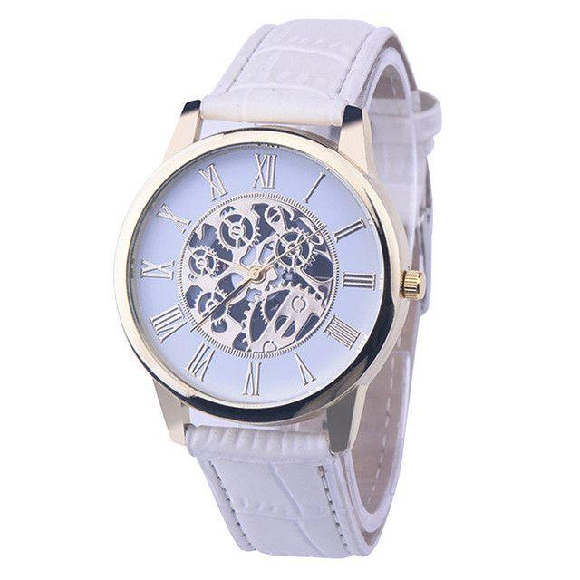 WLK01201 Men Casual Military Watches Automatic Leather Quartz Wristwatch bayan bileklik saat relogio masculino montre femme