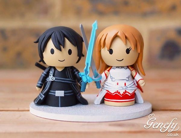 These Adorable Cake Toppers Are Perfect For Nerdy Weddings by NICOLE WAKELIN on APRIL 27, 2015
