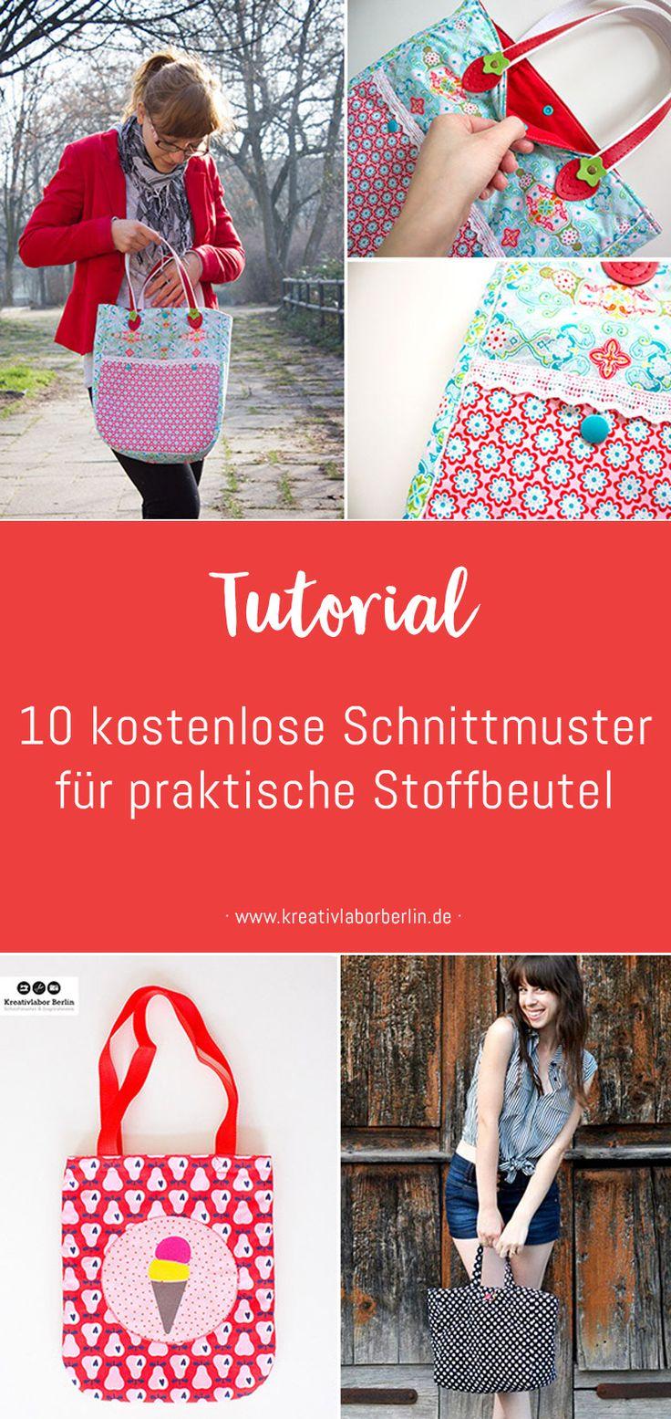 372 best Taschen nähen groß und klein images on Pinterest | Taschen ...