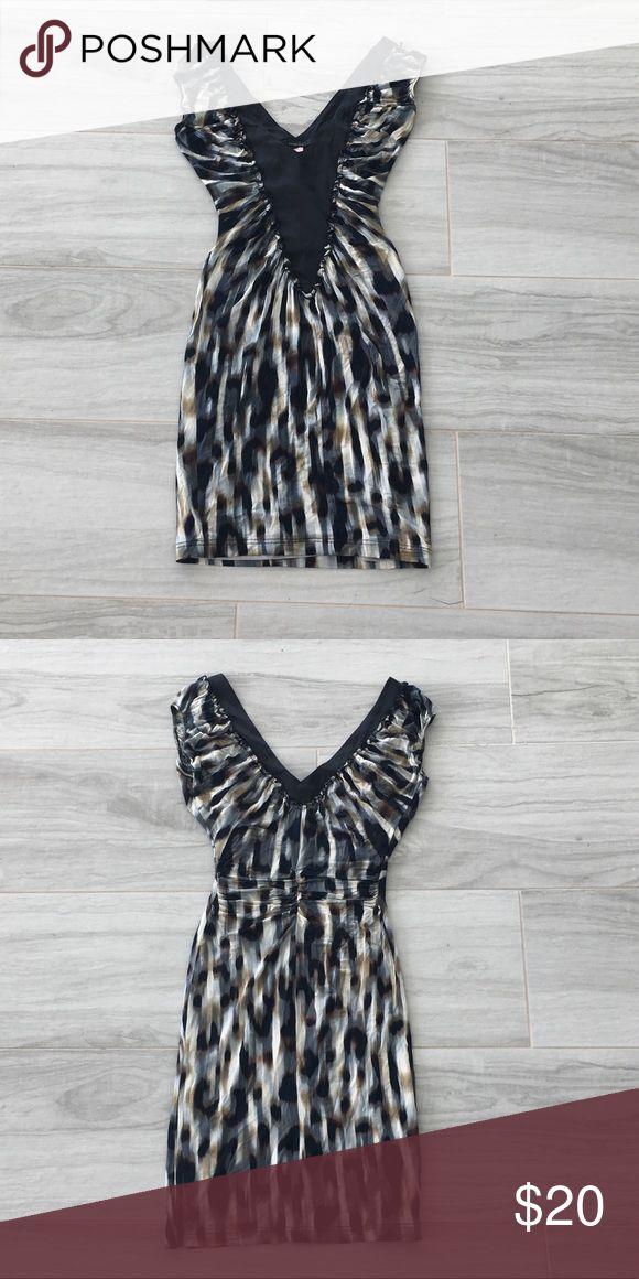 Mango Suit Satin Mini Dress size XS Worn, great condition, ruffle detailing Dresses Mini