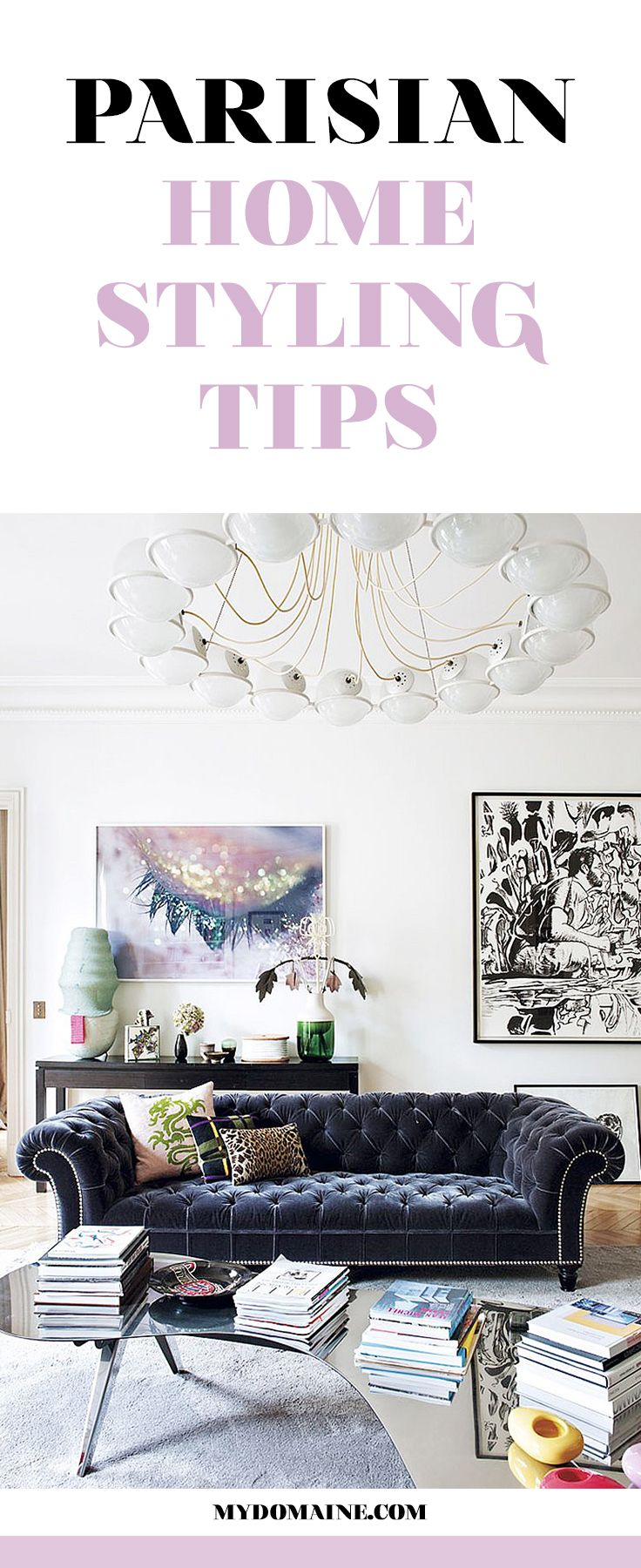 Paris is calling your home's name! Style your space accordingly