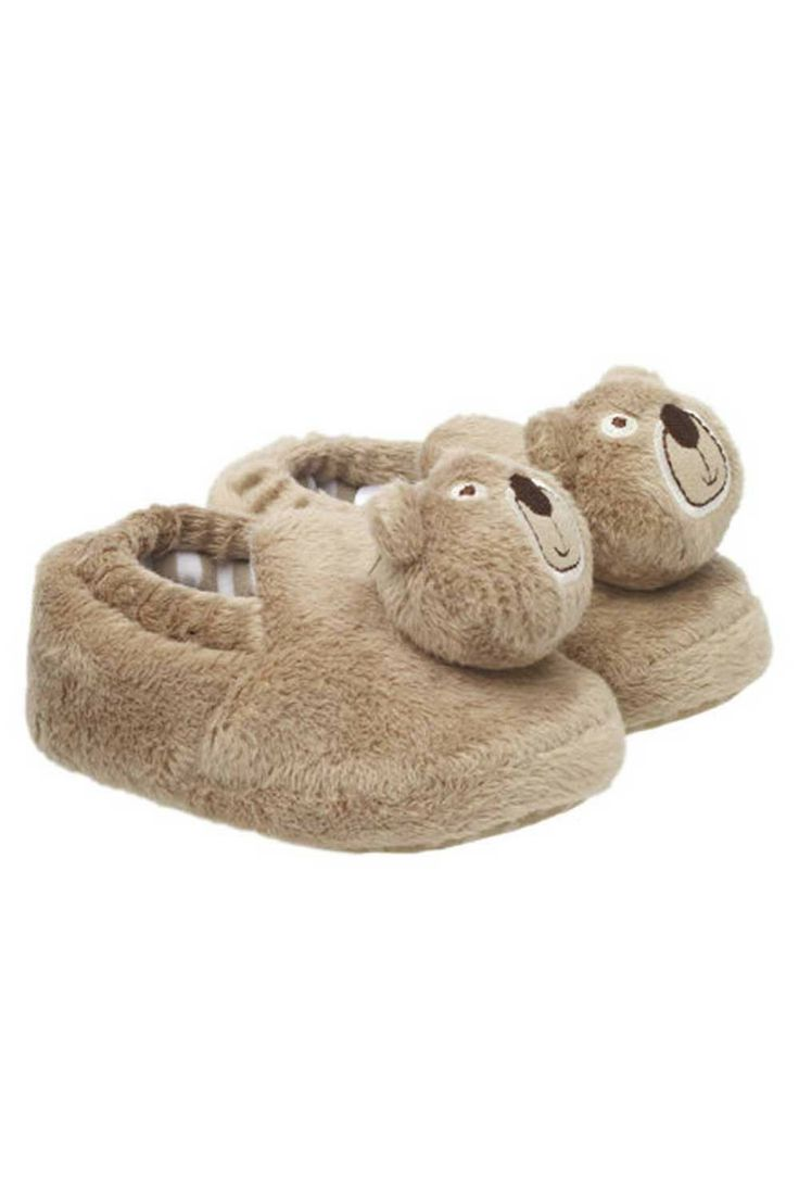 Bear Rattle Slippers