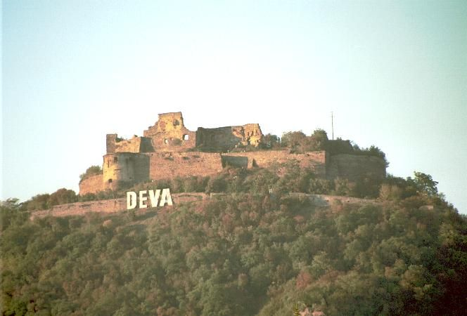 A fortress was Roman built by the Romanian and was re-built in the 13th century as a defence against  Mongol attacks - Used to live in Deva for almost 8 years