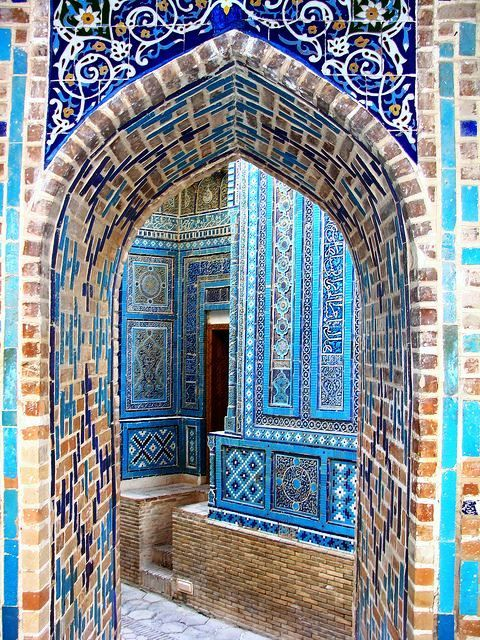 Samarkand, Islamic architecture.