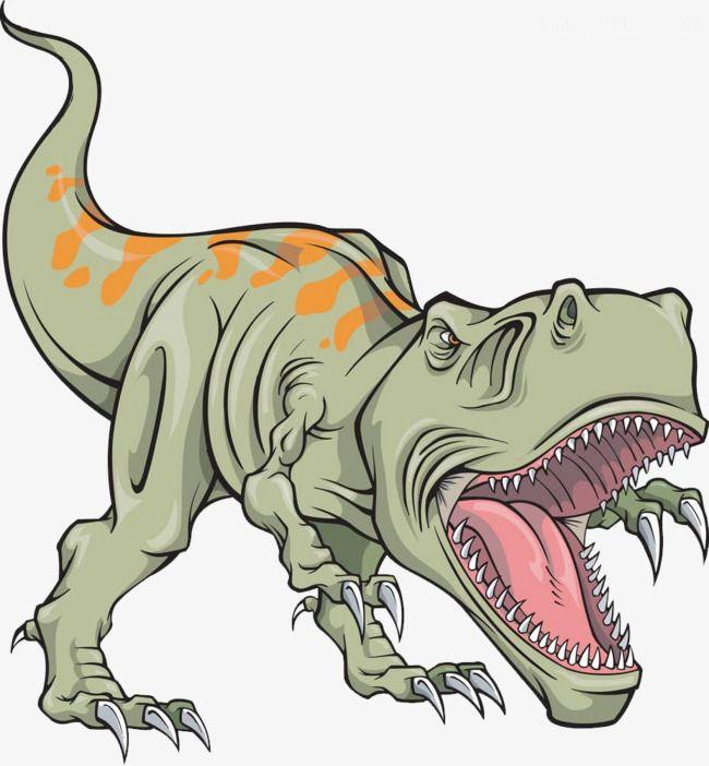 Painted Cartoon Dinosaur Cartoon Clipart Dinosaur Clipart
