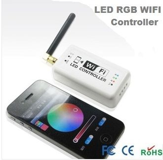 WIFI LED RGB Strip controller RGB and single color