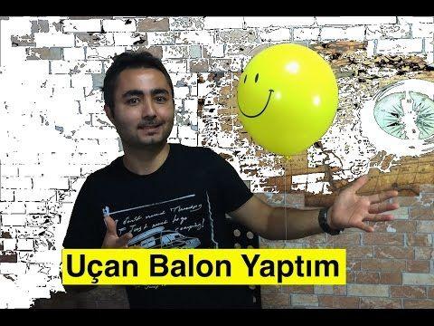 Ev Yapımı Uçan Balon , Homemade Flying Balloon , Hidrojen Balonu , Uçan Balon Nasıl Yapılır