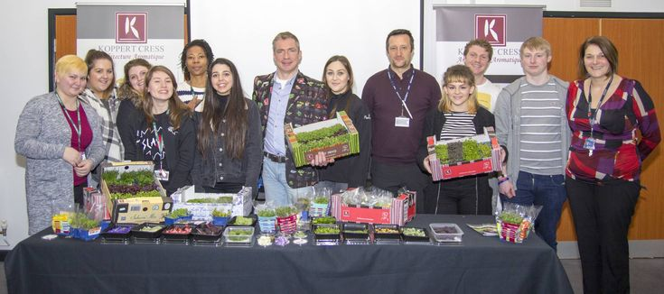 Loughborough College students got the chance to sample exciting speciality ingredients used by some of the world's top chefs at an innovative master class this week.