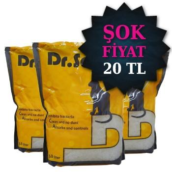 Dr. Sacchi Silica Kedi Kumu 3,8 lt x 3 Adet